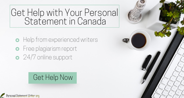canada personal statement writing service