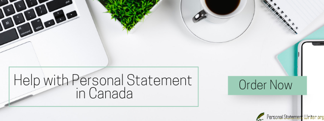 expert personal statement for canada