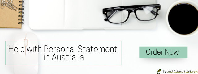 personal statement for university application examples australia