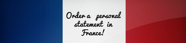 france personal statement service