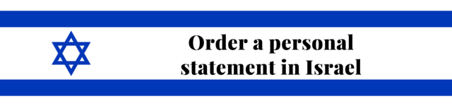 israel personal statement service