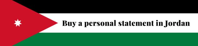 jordan personal statement