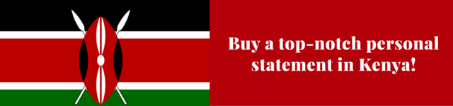 kenya personal statement