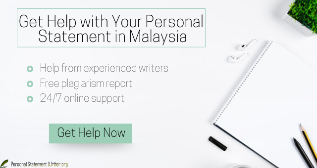 malaysia personal statement for scholarship