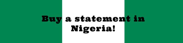 nigeria personal statement