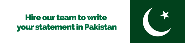 pakistan personal statement writing service