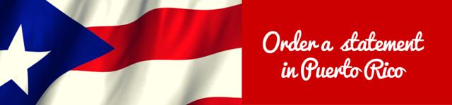 puerto rico personal statement