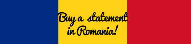 romania personal statement