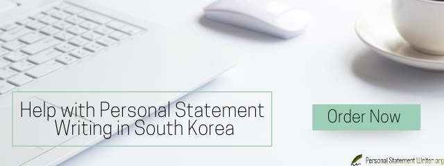 south korea personal statement help