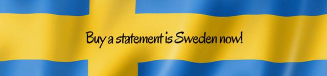 sweden personal statement