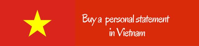 vietnam personal statement