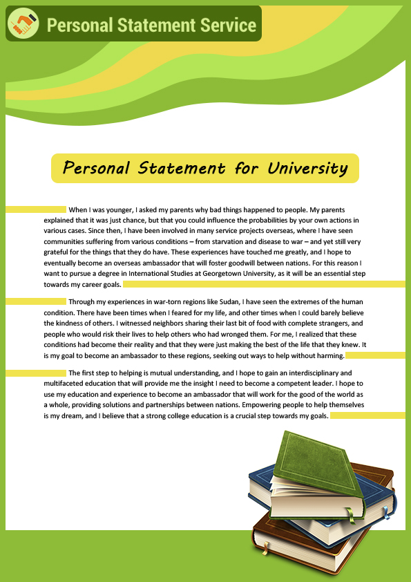 Professional personal statement writers mediation
