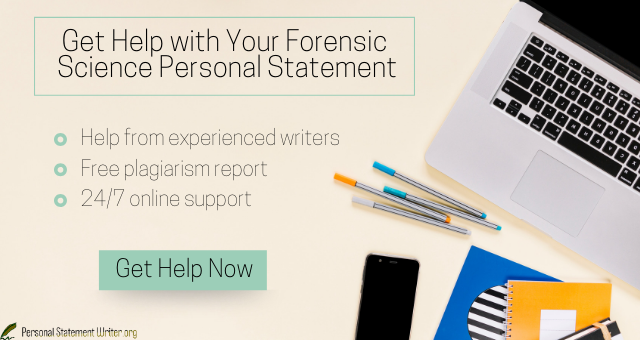 forensic personal statement help