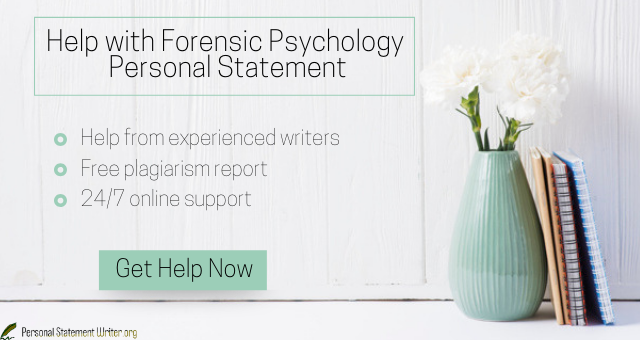 Write The Best Forensic Psychology Personal Statement