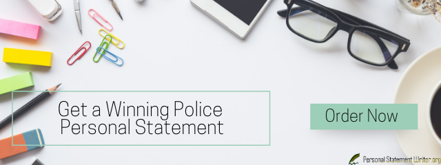 police personal statement tips