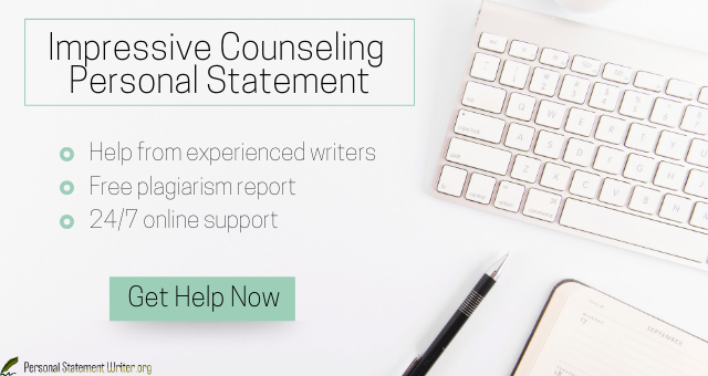 counseling personal statement writer