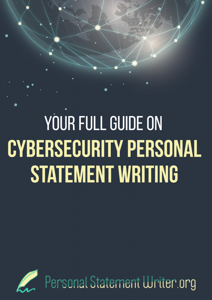 cybersecurity personal statement writing guide