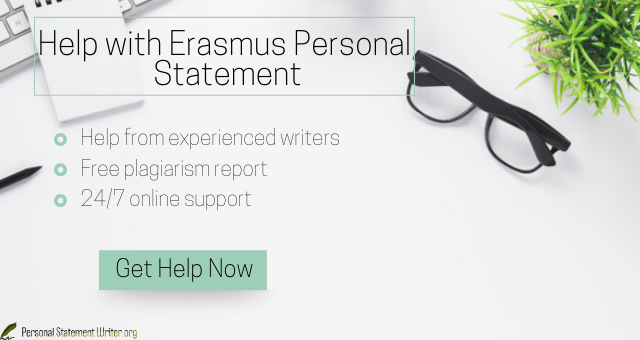 erasmus personal statement writing help