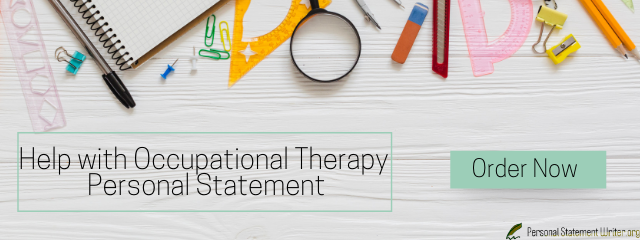 occupational therapy personal statement essay