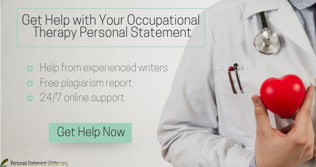 occupational therapy personal statement help