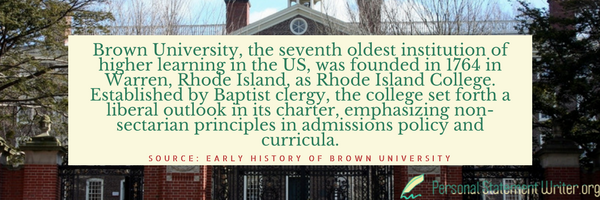 brown university history