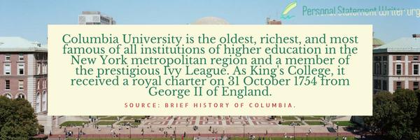 columbia university history
