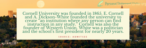 cornell university history