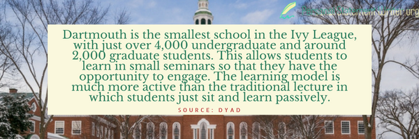 dartmouth college interesting facts