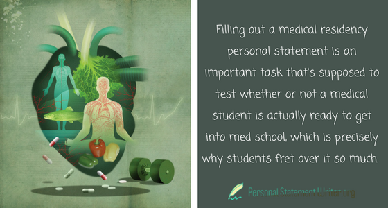 medical school personal statement advice