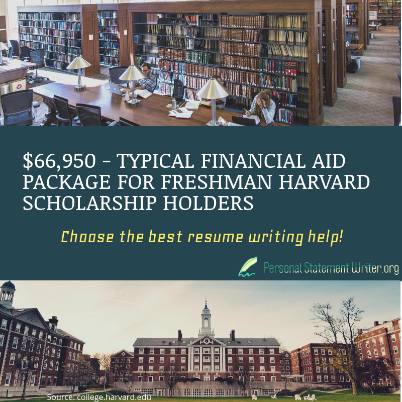 harvard resume scholarship facts