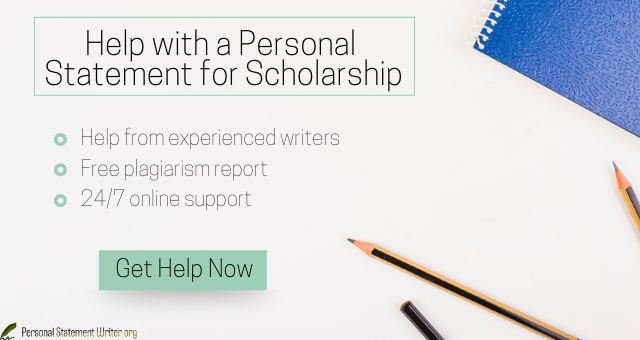 best personal statement for scholarship sample