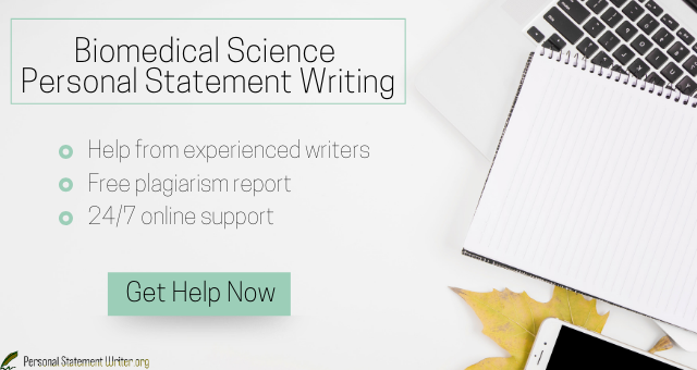 biomedical science personal statement writing service