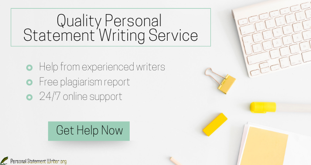 quality personal statement writing service