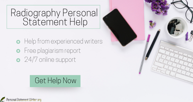 radiography personal statement help
