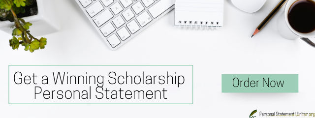 sample personal statement for scholarship online