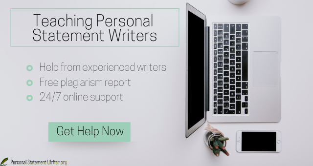 teaching personal statement writers