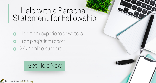 professional medical fellowship personal statement