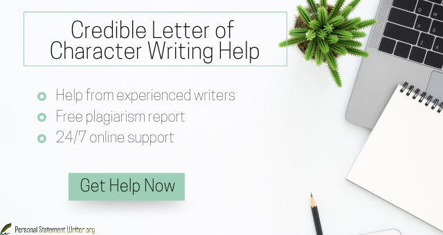 character letter writing service